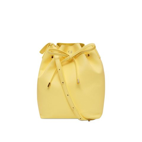 Bag, Yellow, Beige, Handbag, Fashion accessory, Luggage and bags, Backpack, Shoulder bag,