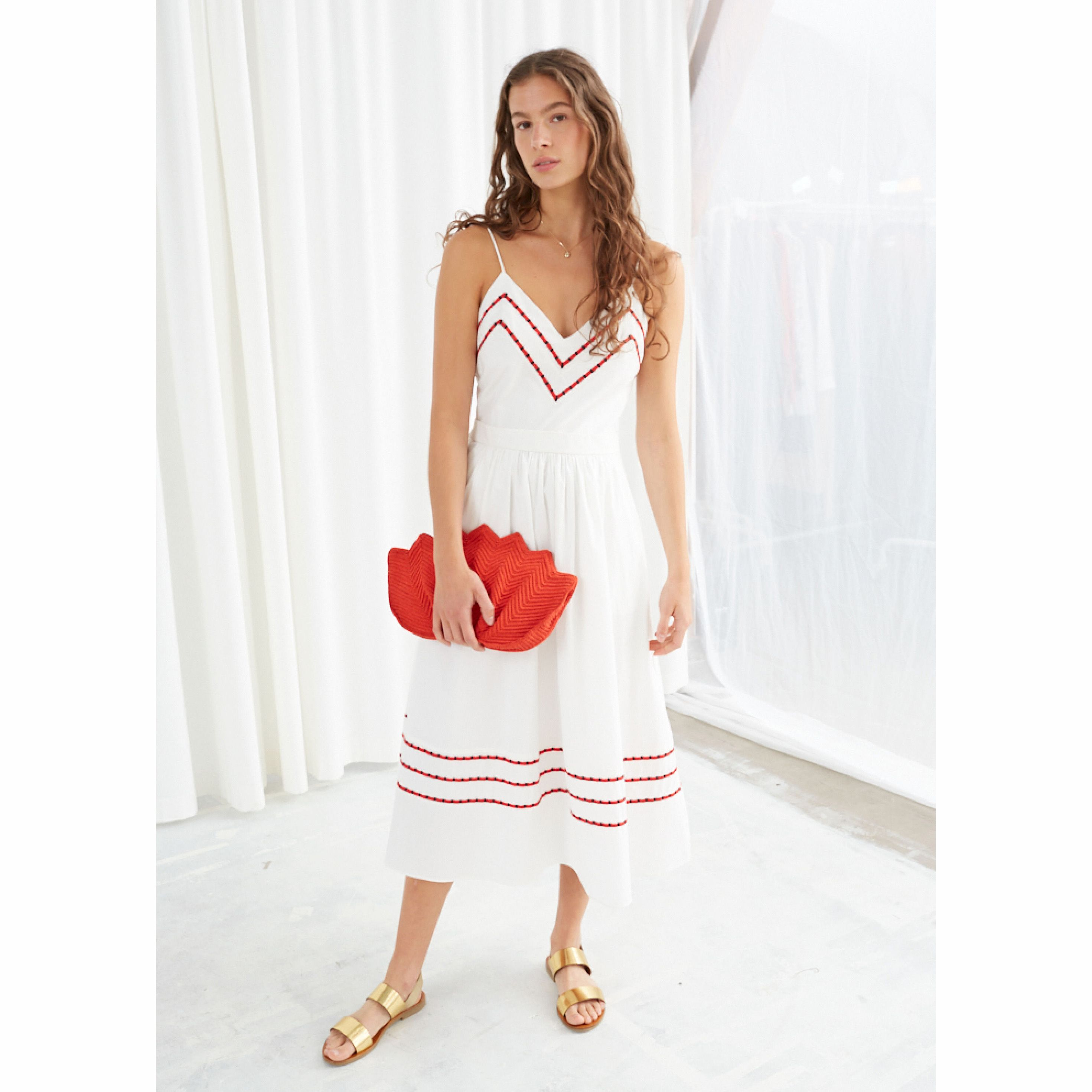 Perfect White Summer Dress