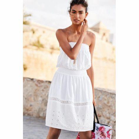 bandeau summer dress