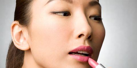 Lip, Face, Skin, Cheek, Nose, Eyebrow, Beauty, Chin, Lipstick, Lip gloss,