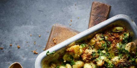 Dish, Food, Cuisine, Ingredient, Cruciferous vegetables, Vegetable, Leaf vegetable, Cauliflower, Brussels sprout, Stuffing,