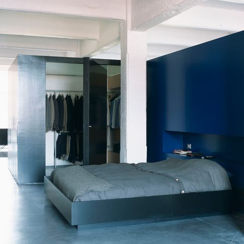 Floor, Room, Property, Interior design, Architecture, Textile, Flooring, Wall, Bed, Ceiling,