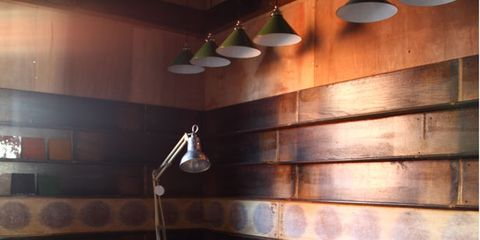 Wood, Brown, Room, Interior design, Wall, Hardwood, Ceiling, Furniture, Couch, Light fixture,