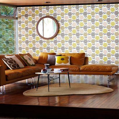 Modern Retro Living Room - Interiors - Redonline