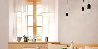 Tablecloth, Room, Interior design, Wood, Floor, Textile, Table, Furniture, Flooring, Interior design,