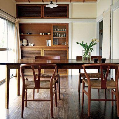 Modern Retro Dining Room, Retro Dining Room Furniture