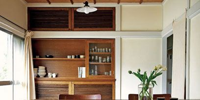 Wood, Room, Interior design, Hardwood, Furniture, Table, Floor, Shelf, Flooring, Cupboard,