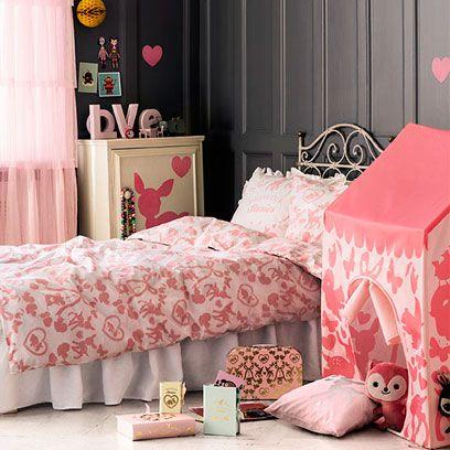Pink, Bed sheet, Furniture, Bed, Bedding, Room, Bedroom, Product, Textile, Interior design,