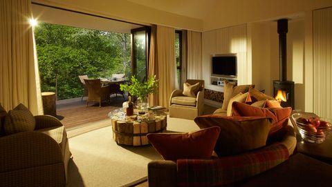Living room, Room, Property, Furniture, Interior design, Building, Suite, Real estate, House, Table,