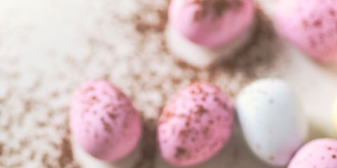 Egg, Food, Pink, Egg, Easter egg, Sweetness, Macaroon, Cuisine,