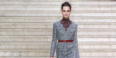 Clothing, Sleeve, Shoulder, Human leg, Joint, Dress, Boot, Style, Street fashion, Collar,