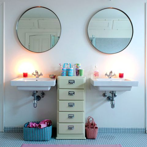Modern Retro Bathrooms Interiors Redonline