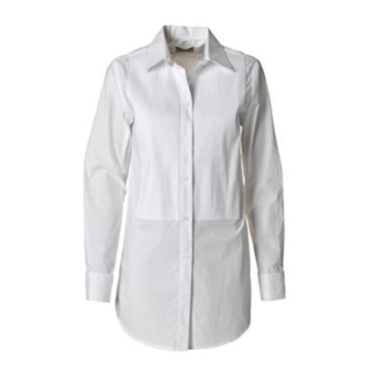 Clothing, Product, Collar, Sleeve, Textile, White, Fashion, Button, Natural material, Fashion design,