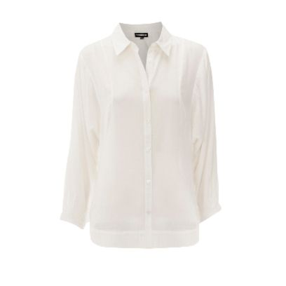 Product, Dress shirt, Collar, Sleeve, Textile, Shirt, White, Fashion, Pattern, Button,