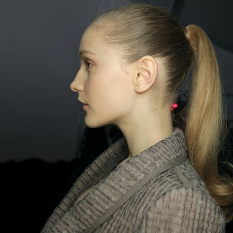 Ear, Lip, Hairstyle, Chin, Forehead, Earrings, Eyebrow, Style, Eyelash, Jaw,