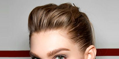 Hair, Ear, Nose, Lip, Cheek, Hairstyle, Chin, Forehead, Eyelash, Eyebrow,