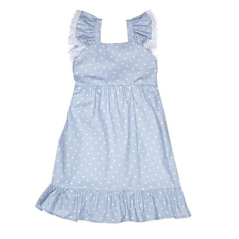 Clothing, Day dress, Dress, White, Blue, Product, One-piece garment, Cocktail dress, Denim, Textile,