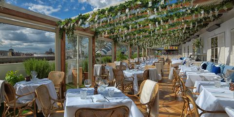 Restaurant, Property, Real estate, Function hall, Building, Resort, Table, Room, Banquet, Tablecloth,