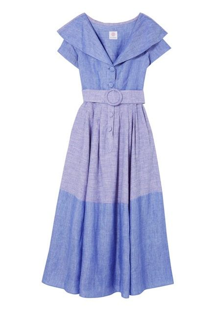 Clothing, Day dress, Dress, Blue, Cocktail dress, Purple, Sleeve, One-piece garment, A-line, Electric blue,