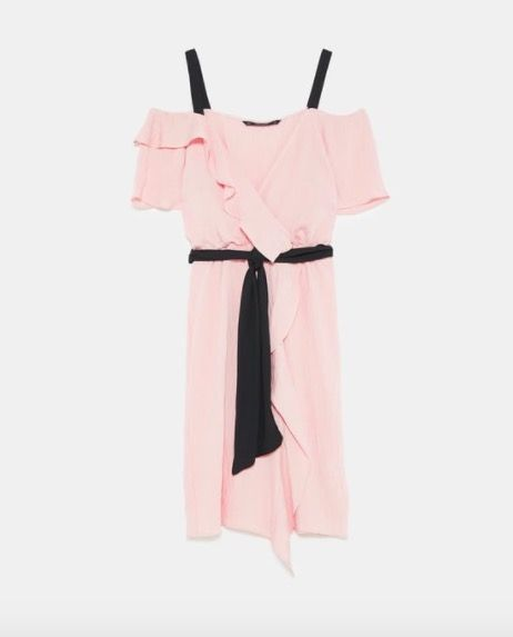 Pink, Clothing, Product, Sleeve, Costume, Textile, Nightwear, Dress, Peach, Kimono,