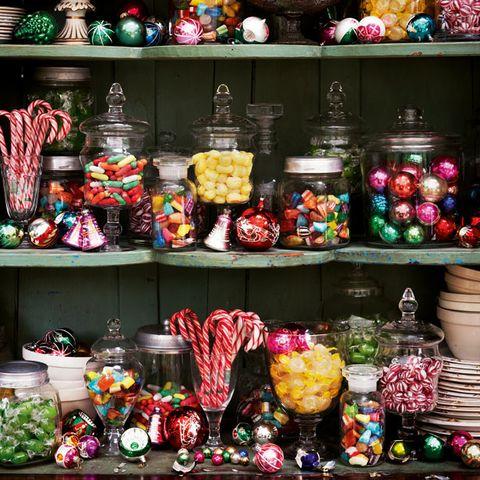 Collection, Souvenir, Sweetness, Porcelain, Shelving, Dishware, Market, Ceramic, Confectionery, Shelf,