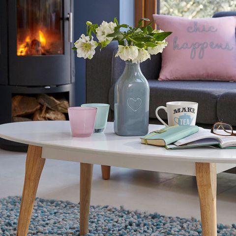 Furniture, Coffee table, Table, Room, Interior design, Desk, Shelf, Living room, Dining room, Wood,