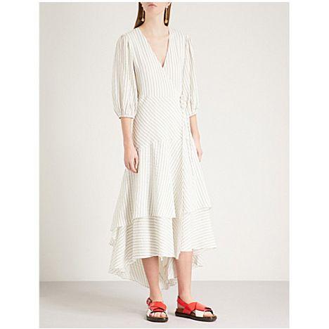 Clothing, Dress, White, Day dress, Neck, Sleeve, Outerwear, Footwear, Shoulder, Beige,