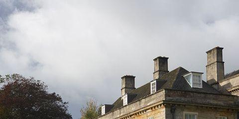 Window, Property, Building, House, Brick, Real estate, Facade, Garden, Home, Shrub,