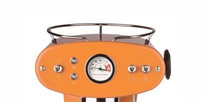 Orange, Machine, Circle, Measuring instrument, Steel,