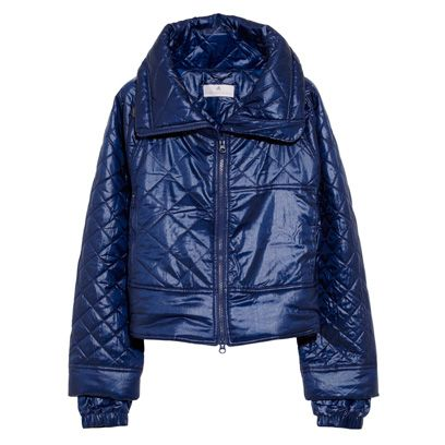 Blue, Jacket, Product, Sleeve, Coat, Textile, Outerwear, Collar, Electric blue, Leather,