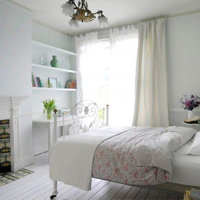 All-white bedrooms | Bedroom Colour Scheme Ideas | Interiors