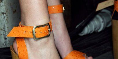Brown, Orange, Joint, Style, Tan, Fashion, Wrist, Strap, High heels, Foot,