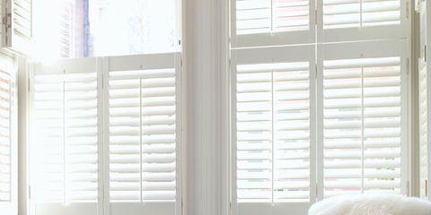 Window, Interior design, Room, Flowerpot, Window covering, Floor, Wall, Window treatment, Daylighting, Flooring,