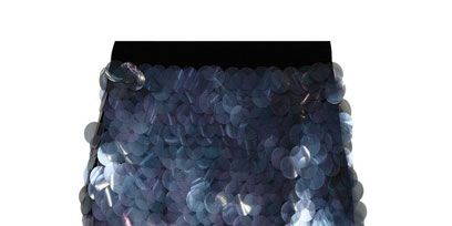 Blue, Pattern, Lavender, Purple, Grey, Aqua, Natural material, Paint, Silver, Square,