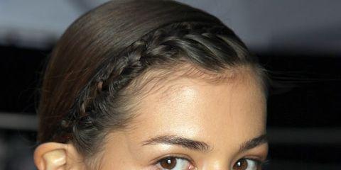 Head, Nose, Ear, Lip, Cheek, Hairstyle, Skin, Chin, Forehead, Earrings,