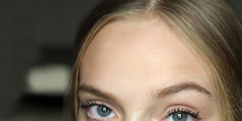 Lip, Cheek, Brown, Hairstyle, Skin, Chin, Forehead, Eyelash, Eyebrow, Eye shadow,
