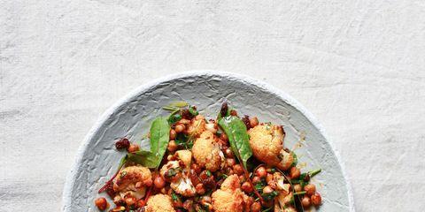 Food, Ingredient, Cuisine, Dish, Recipe, Produce, Dishware, Meat, Leaf vegetable, Fried food,