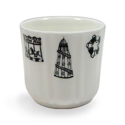 White, Porcelain, Drinkware, Serveware, Font, Dishware, Ceramic, Cup, Cylinder, Design,