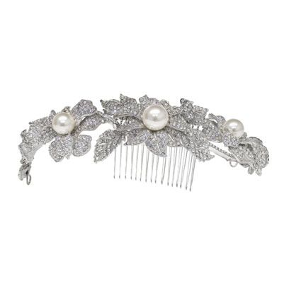 Fashion accessory, Natural material, Metal, Body jewelry, Bridal accessory, Brooch, Silver, Gemstone, Pearl, Jewelry making,