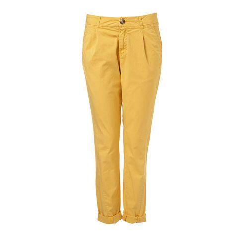 Brown, Yellow, Trousers, Textile, Khaki, Denim, Amber, Waist, Pocket, Tan,