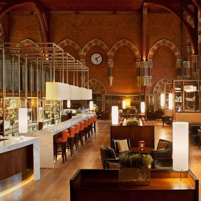 Interior design, Hall, Interior design, Hardwood, Houseplant, Arch, Arcade, Light fixture, Holy places, Varnish,