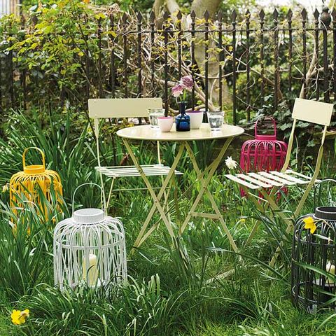 Plant, Garden, Table, Outdoor table, Shrub, Backyard, Flowerpot, Yard, Outdoor furniture, Annual plant,