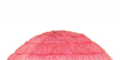Product, Red, Magenta, Pink, Maroon, Beige, Fur, Paint, Natural material, Costume accessory,