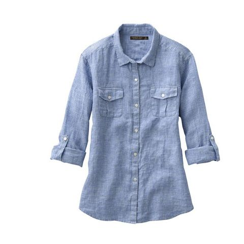 Clothing, Blue, Product, Collar, Sleeve, Dress shirt, Textile, White, Pattern, Style,