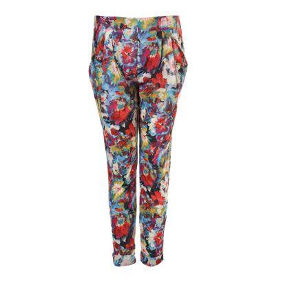 Textile, Style, Pattern, Orange, Aqua, Active pants, Camouflage, Teal, Visual arts, Waist,