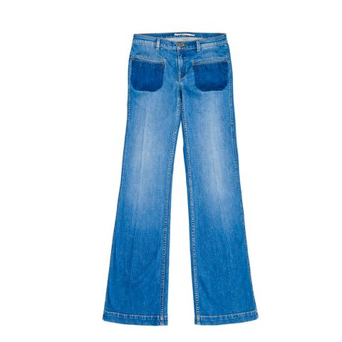 Clothing, Blue, Denim, Pocket, Textile, Jeans, White, Electric blue, Azure, Cobalt blue,