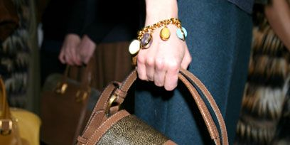 Brown, Bag, Textile, Joint, Style, Pattern, Wrist, Fashion, Shoulder bag, Luggage and bags,