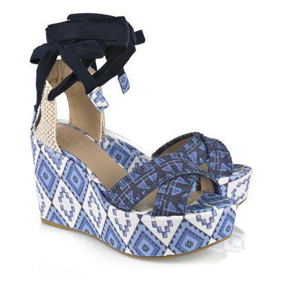 Sandal, Wedge, Electric blue, High heels, Basic pump, Slingback, Strap, Court shoe,