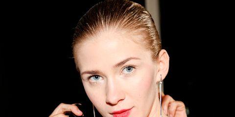 Face, Head, Ear, Lip, Hairstyle, Earrings, Eyebrow, Eyelash, Style, Jewellery,