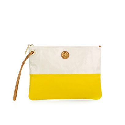 Yellow, Bag, Shoulder bag, Beige, Rectangle, Leather, Brass, Coin purse,